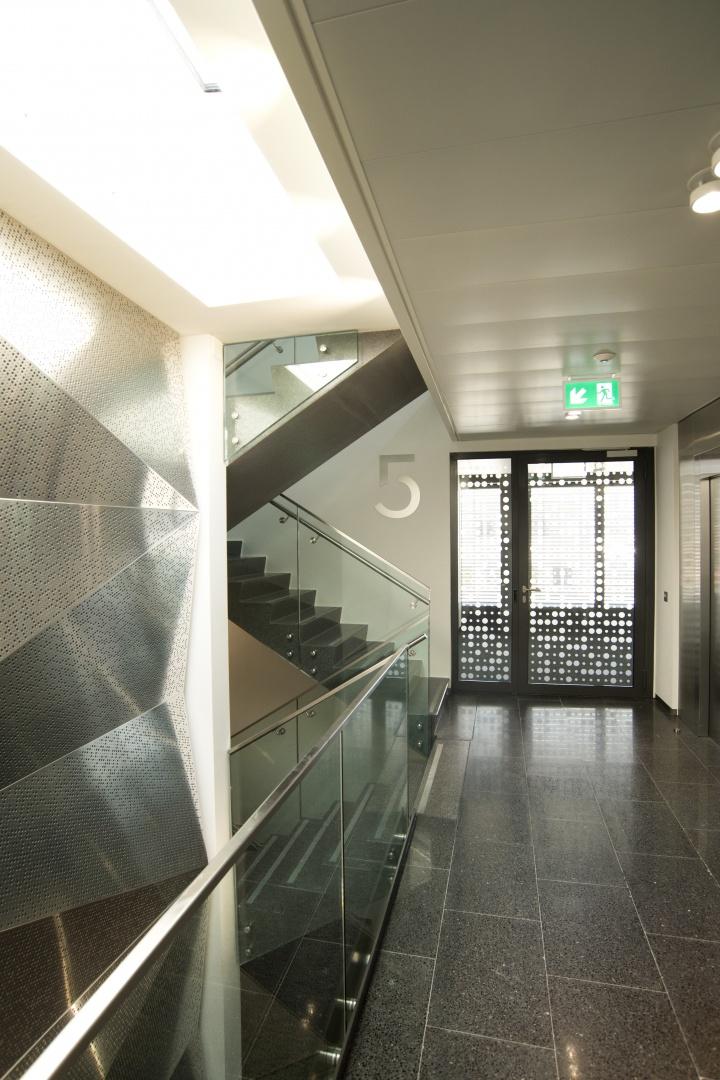 Cage d'escalier Grancy 39 © Philippe Pache Photographe