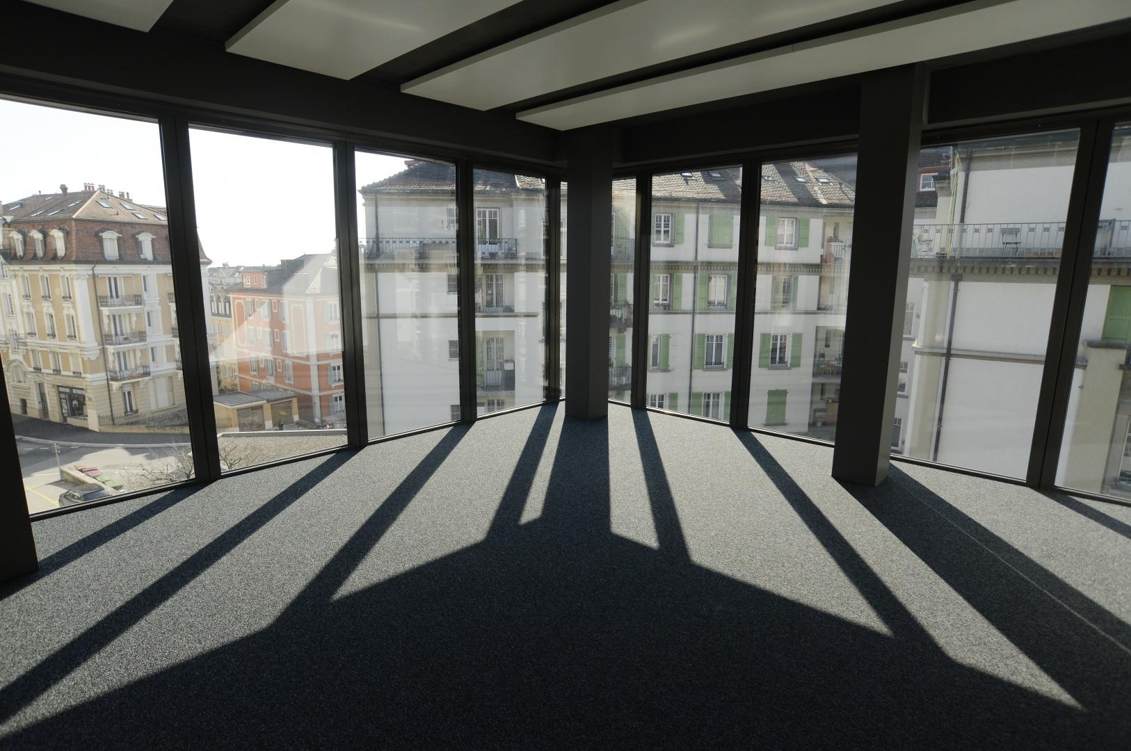 Open-space 2ème étage © Philippe Pache Photographe