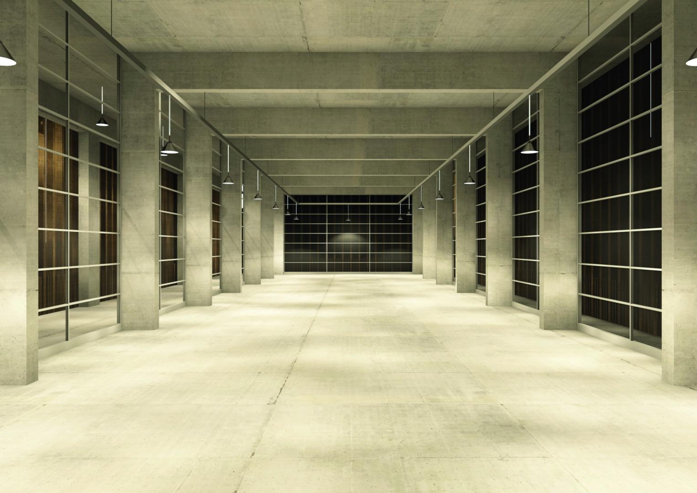 local de machines dans la nuit © Davide Vinciguerra