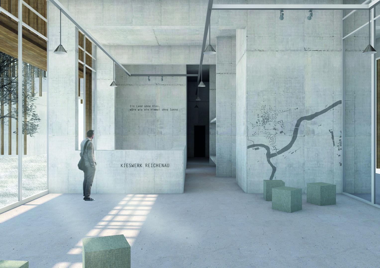 Verwaltungszentrale_Eingangsbereich_Tag © Davide Vinciguerra