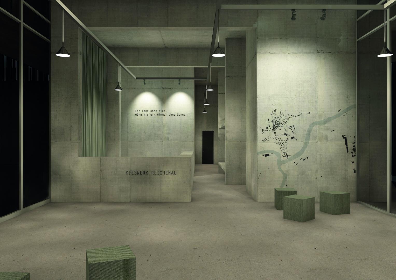 Verwaltungszentrale_Eingangsbereich_Abend © Davide Vinciguerra