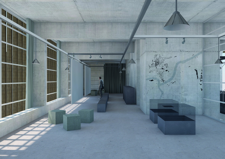 centre administratif :  exposition pendant la journée © Davide Vinciguerra