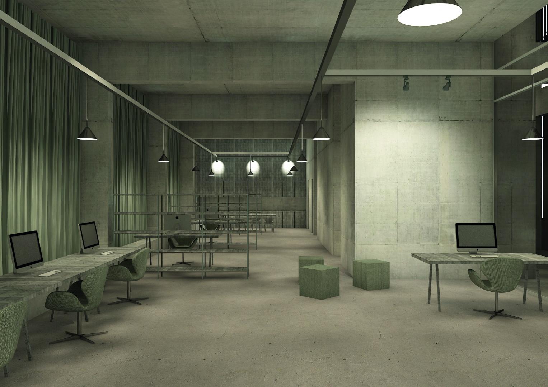 Verwaltungszentrale_Büro_Abend © Davide Vinciguerra