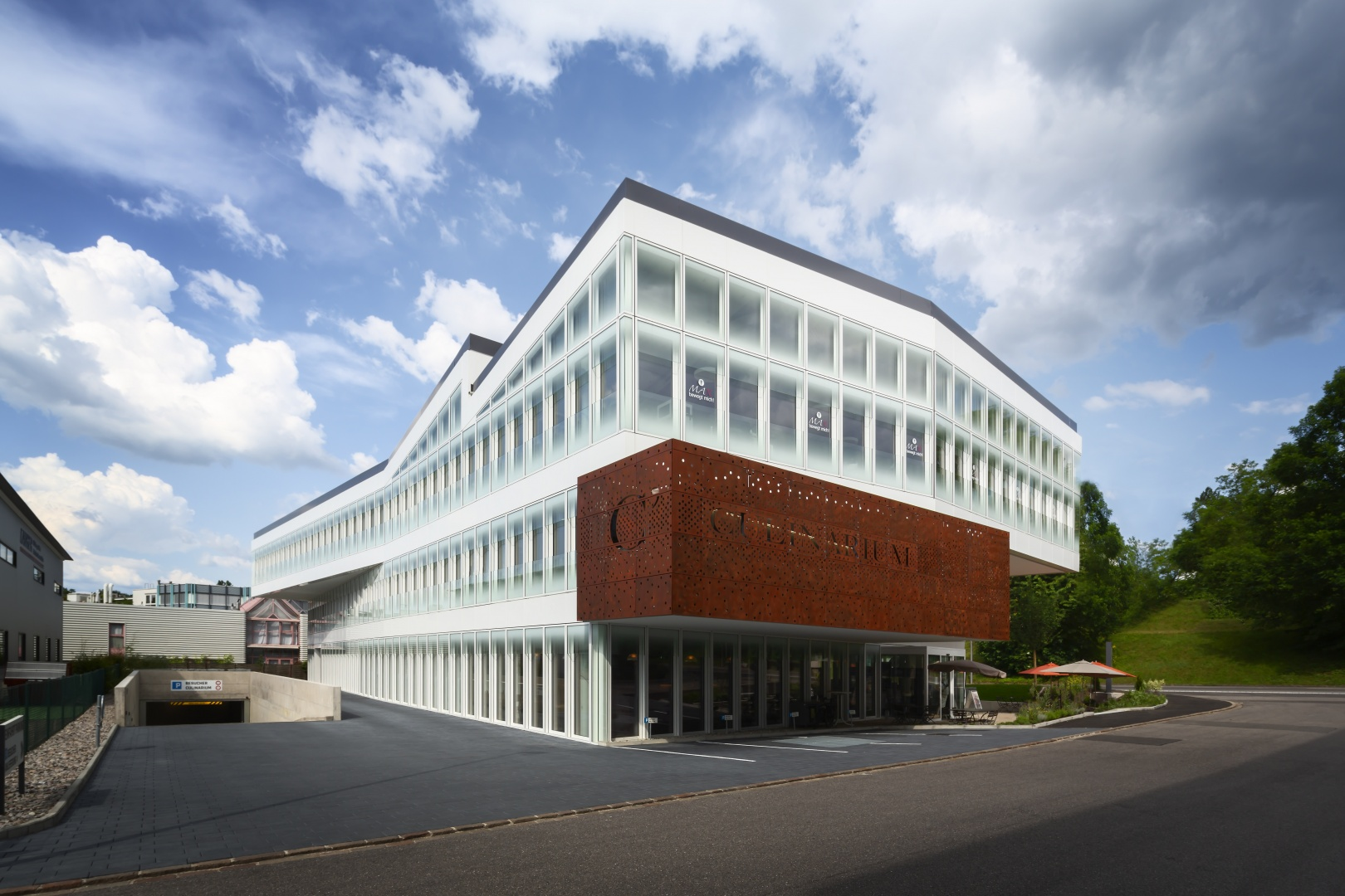 Anlieferung © Fox Wälle Architekten SIA GmbH, Arlesheim
