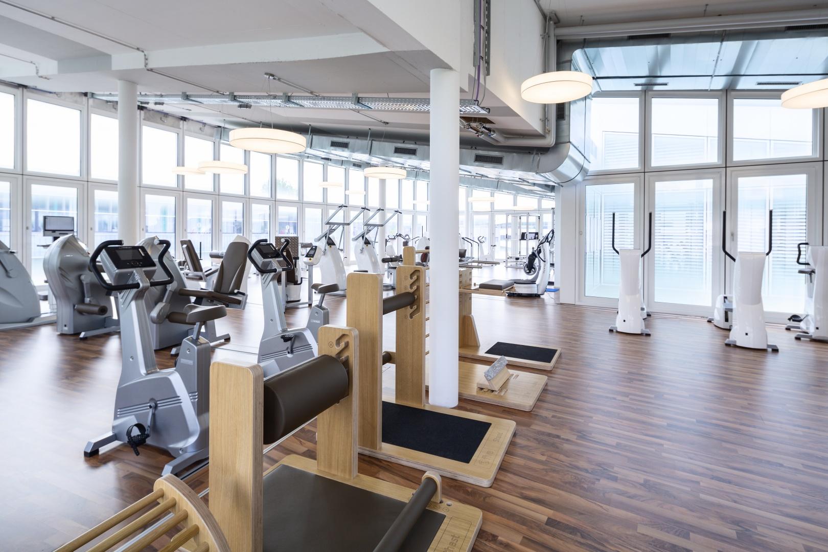 Fitness-Center © Fox Wälle Architekten SIA GmbH, Arlesheim