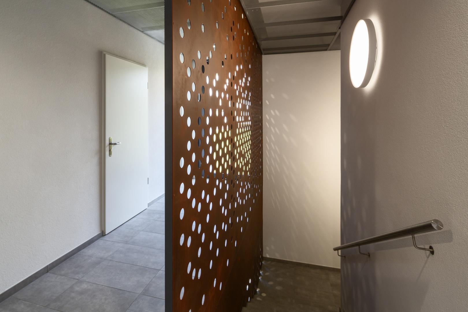 Treppenhaus © Fox Wälle Architekten SIA GmbH, Arlesheim