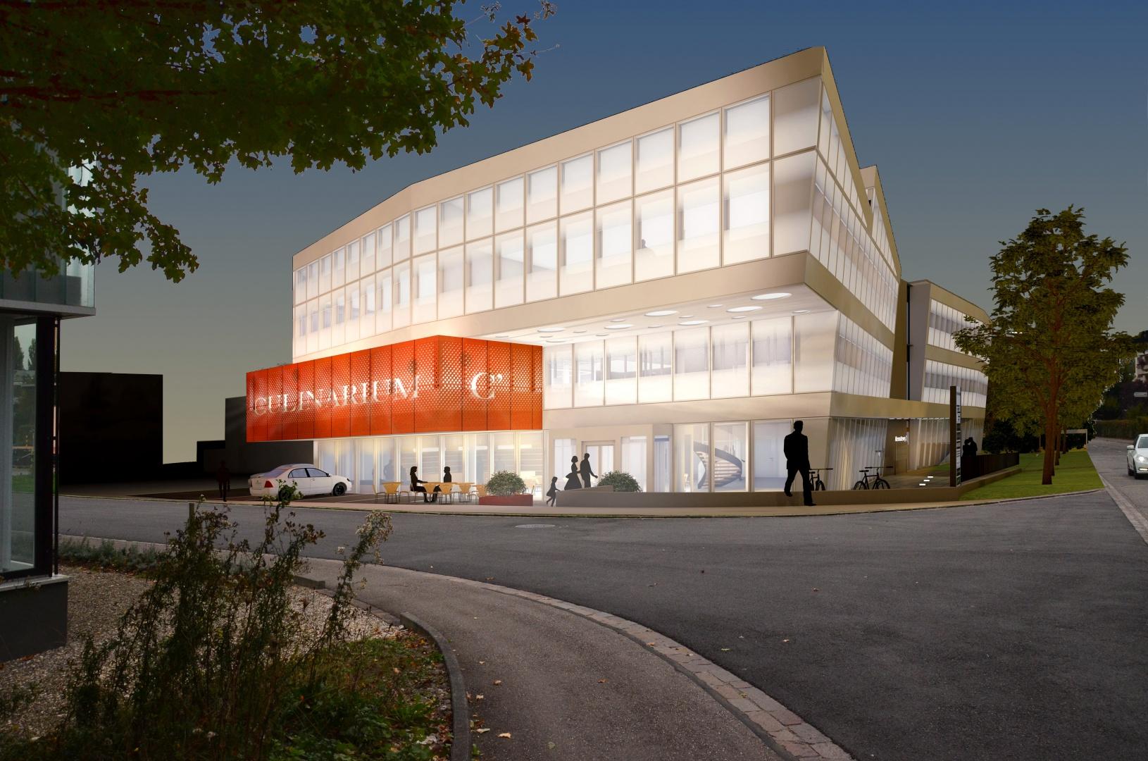 Visualisierung © Fox Wälle Architekten SIA GmbH, Arlesheim