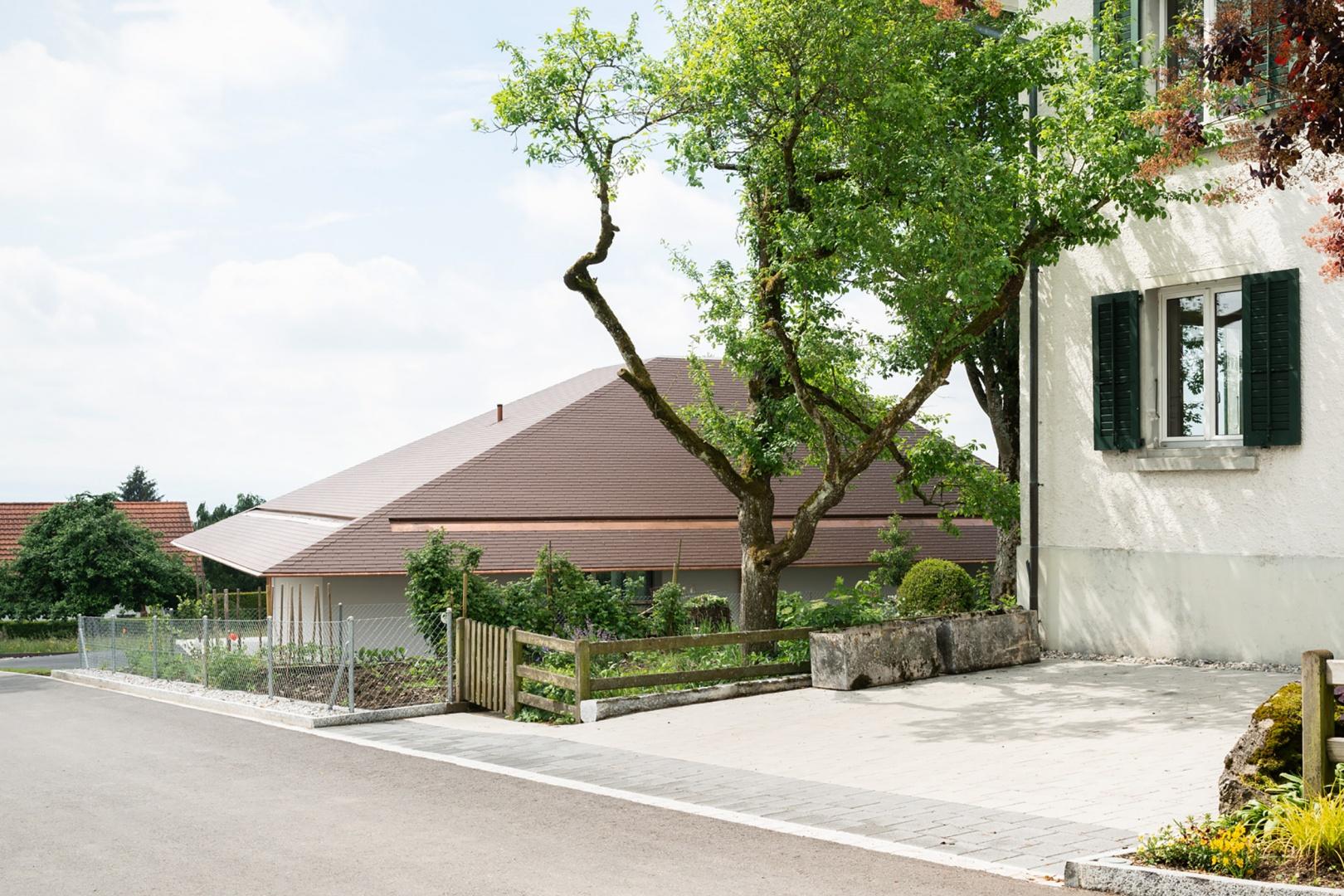 Nordfassade © HSB Architekten GmbH, Poststrasse 1, 4500 Solothurn
