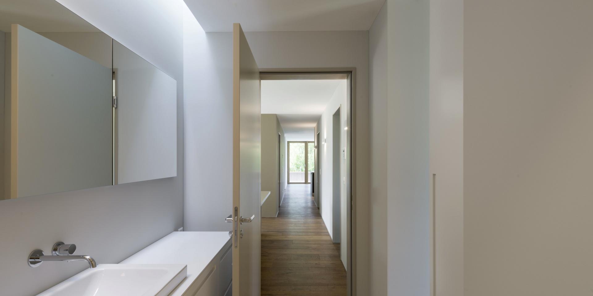 Badezimmer OG © Andreas Marti & Partner Architekten AG