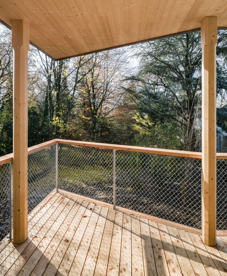 Anbau Balkon © 2017 Jaeger Koechlin Achitekten, Basel
