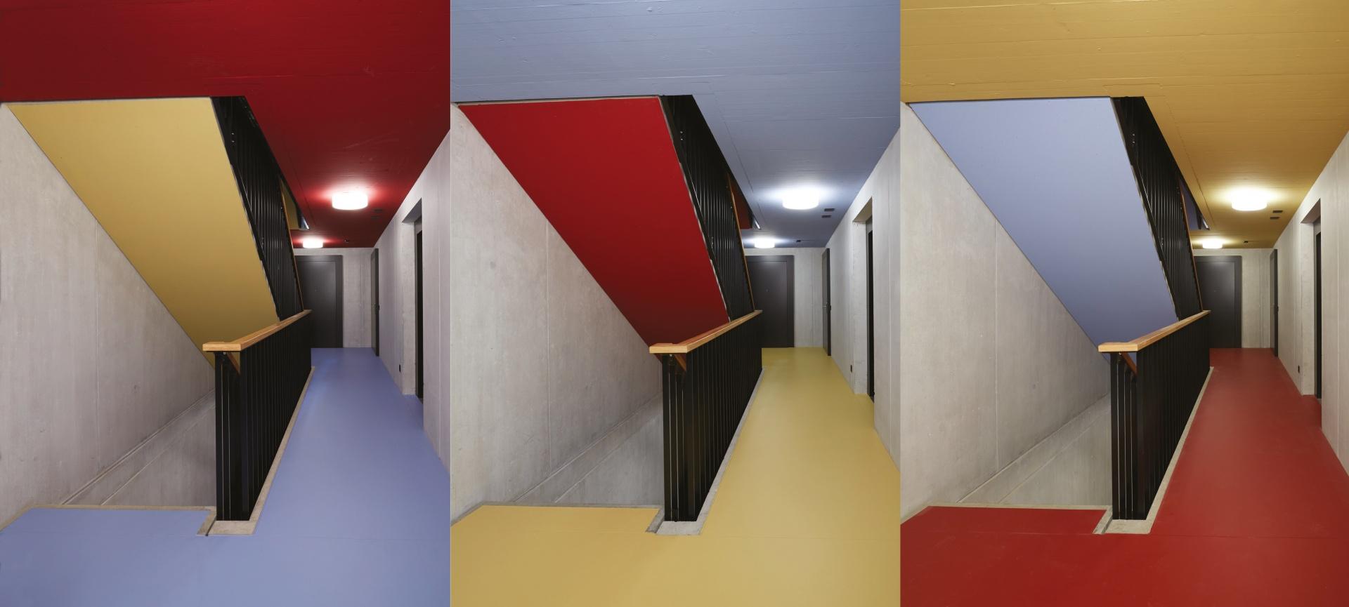 Treppenhäuser © Heinz Unger, Schlieren