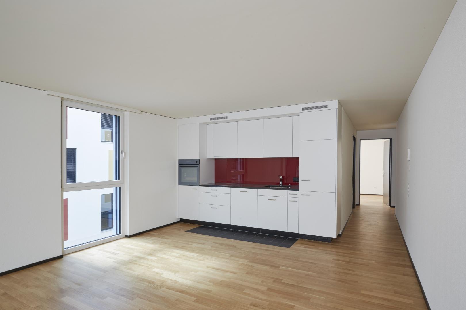 Innenraum_Küche © Heinz Unger, Schlieren