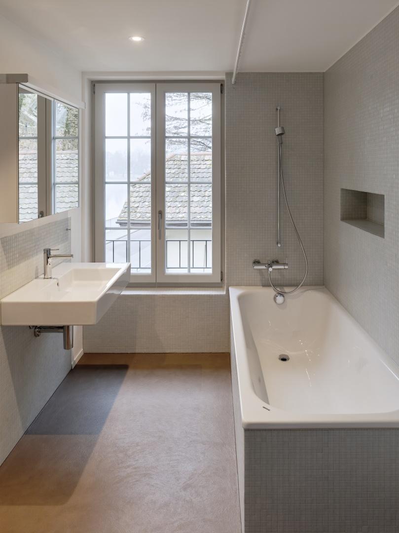 Bad im Obergeschoss © Rolf Siegenthaler Bern