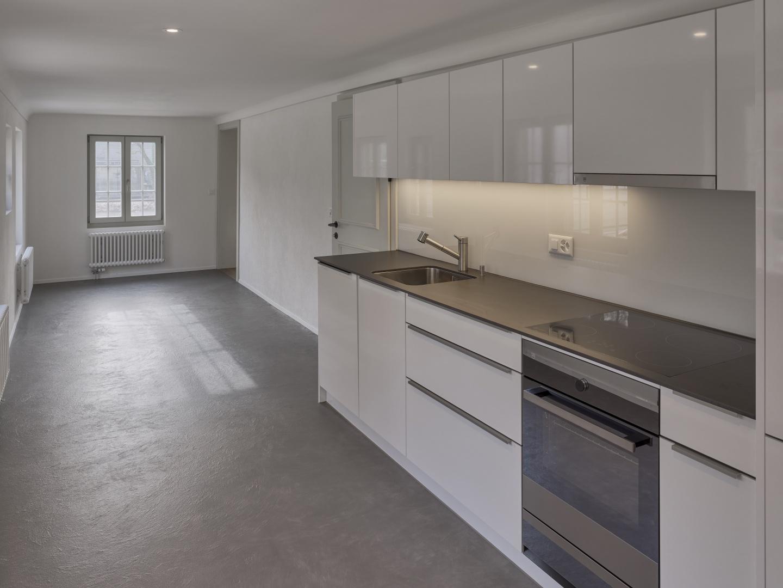 Neue Küche im Erdgeschoss  © Rolf Siegenthaler Bern