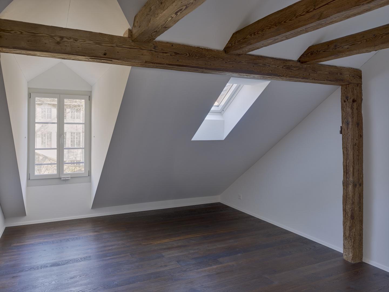 Neue Lukarnen und Dachfenster im Dachgeschoss © Rolf Siegenthaler Bern