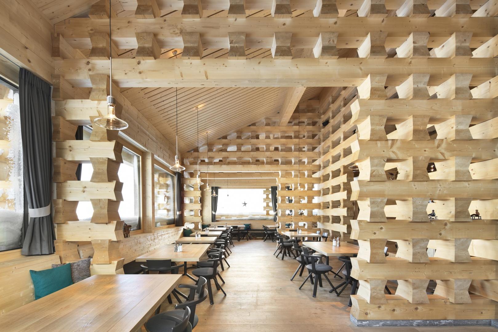Restaurantbereich © Ralph Feiner