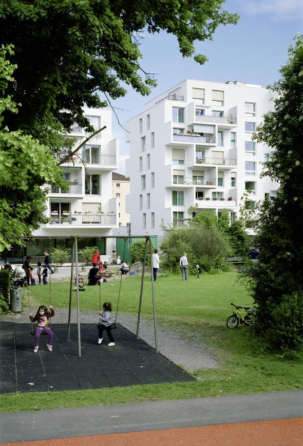 Kinderspielplatz © Foto: Andrea Helbling