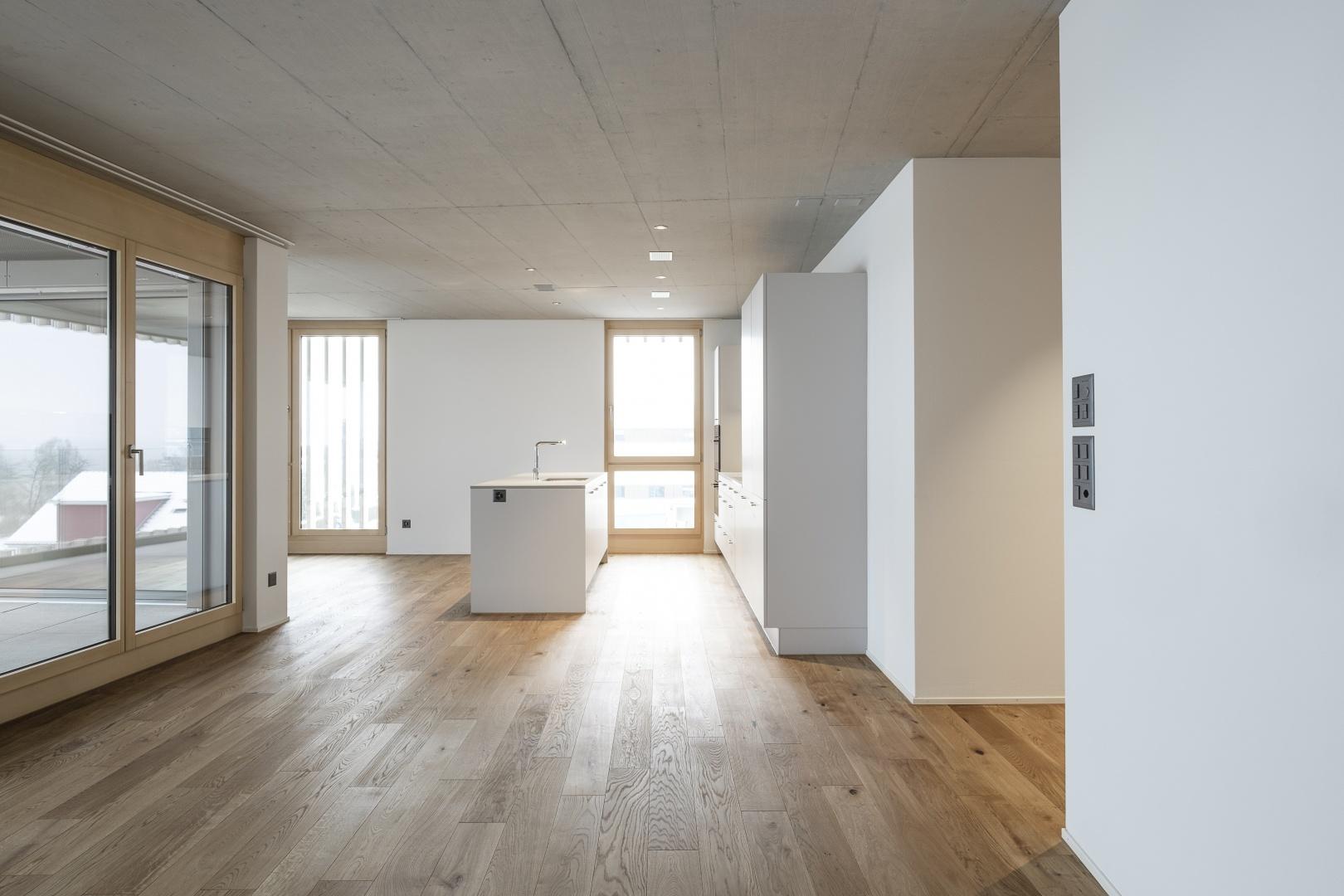 Wohnung © Hunkeler Partner Architekten AG