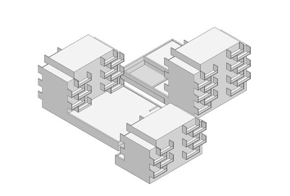 Icon Areal Frieden © pool architekten