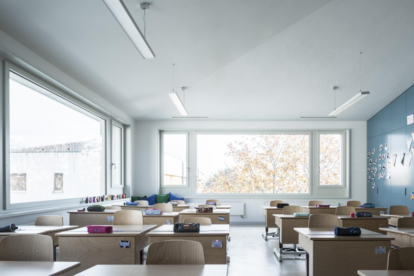 Primarklasse © Dominique Marc Wehrli, Atelier für Architektur, Else-Züblin-Strasse 112, 8404 Winterthur,