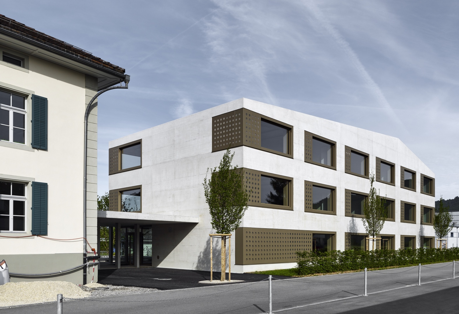 Neubau Schulhaus Kestenholz | Schweizer Baudokumentation
