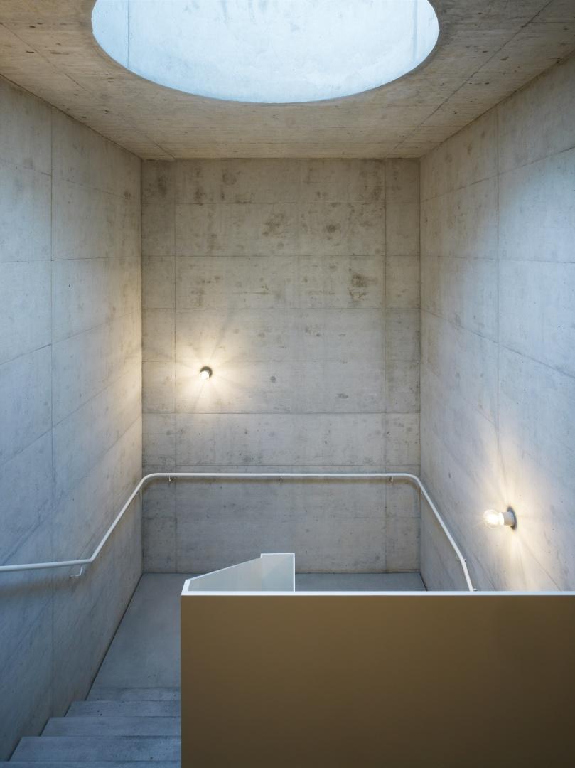 Treppenhaus © Ruedi Walti, Basel