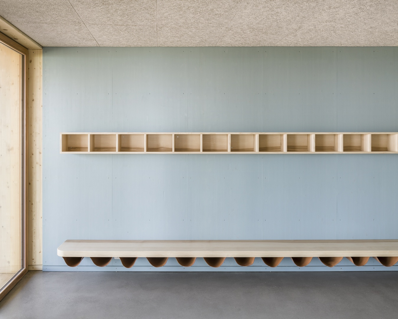 Garderobe © 2017 Jaeger Koechlin Achitekten, Basel