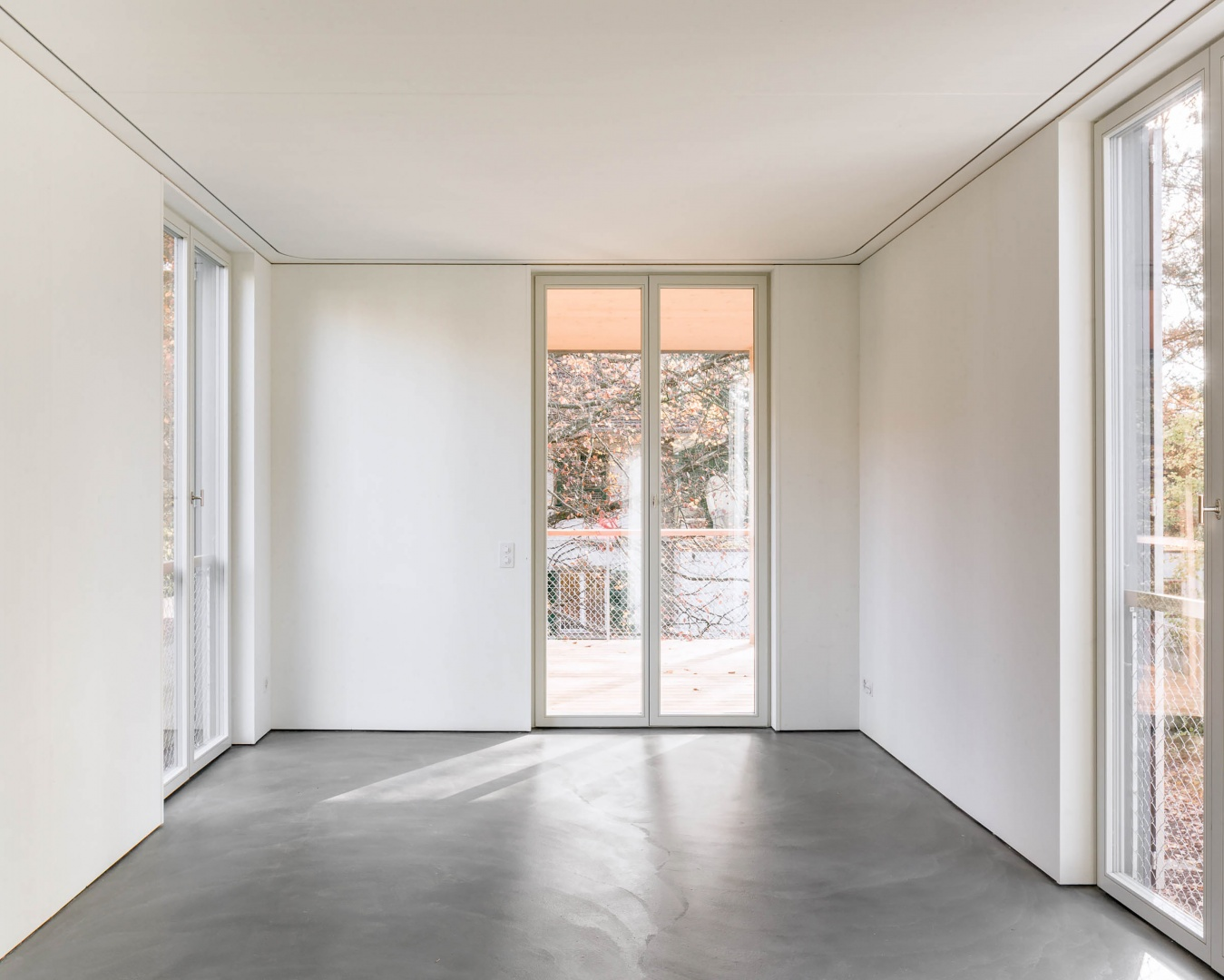 Innenraum Anbau © 2017 Jaeger Koechlin Achitekten, Basel