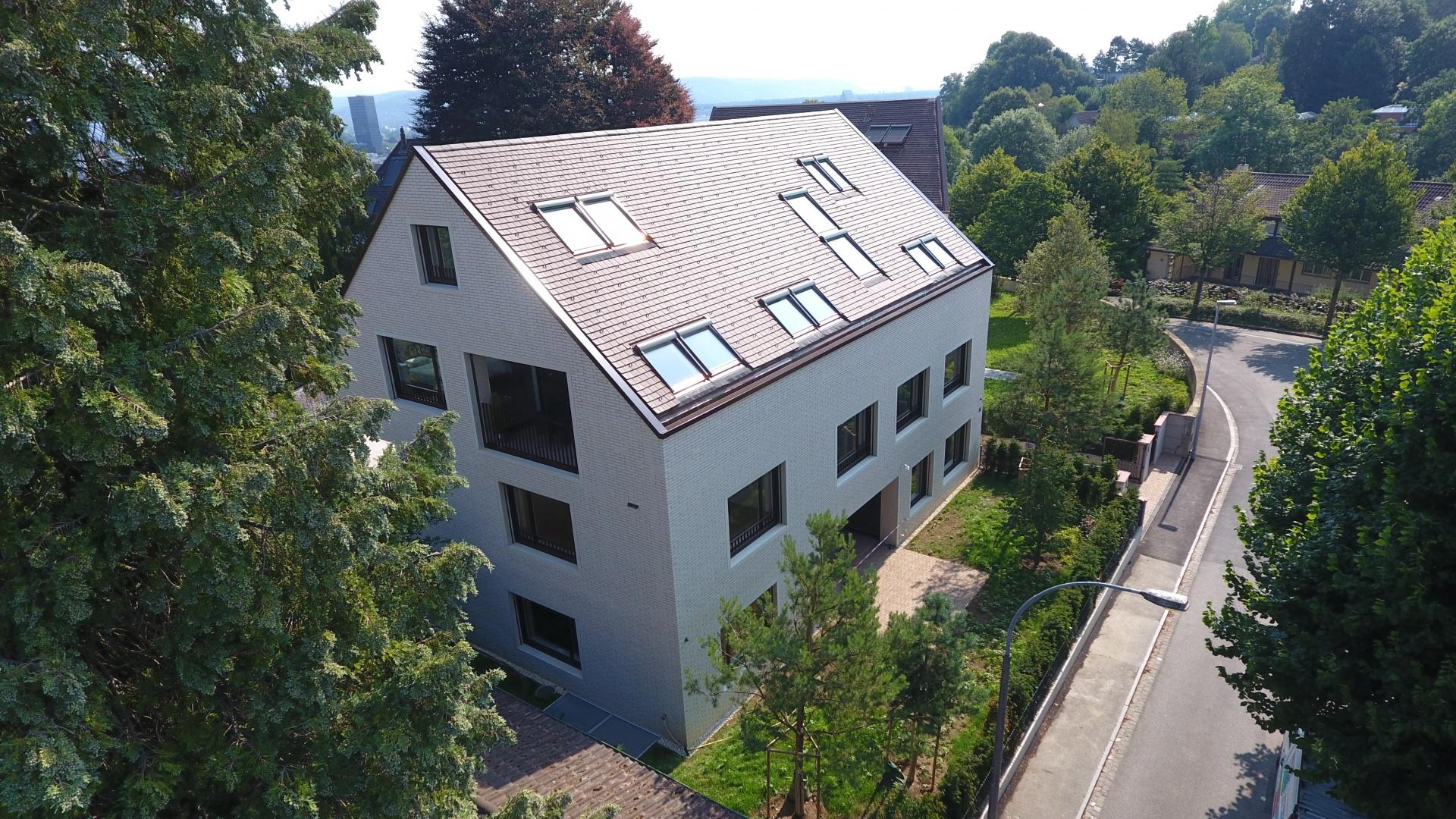 Ansicht Haus A © Ferrara Architekten AG
