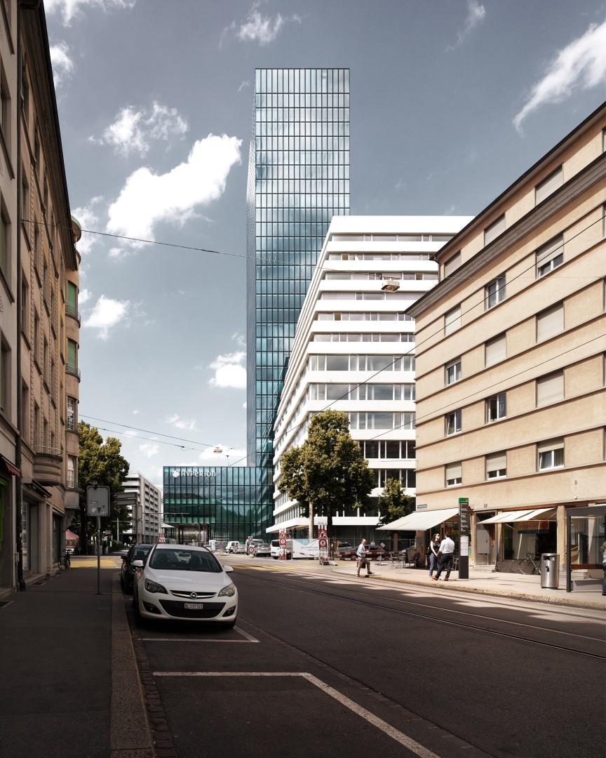 Ansicht Rosentalstrasse © Valentin Jeck, Stäfa