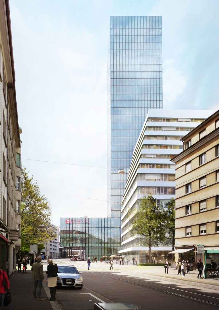 Visualisierung Rosentalstrasse © Morger Partner Architekten AG