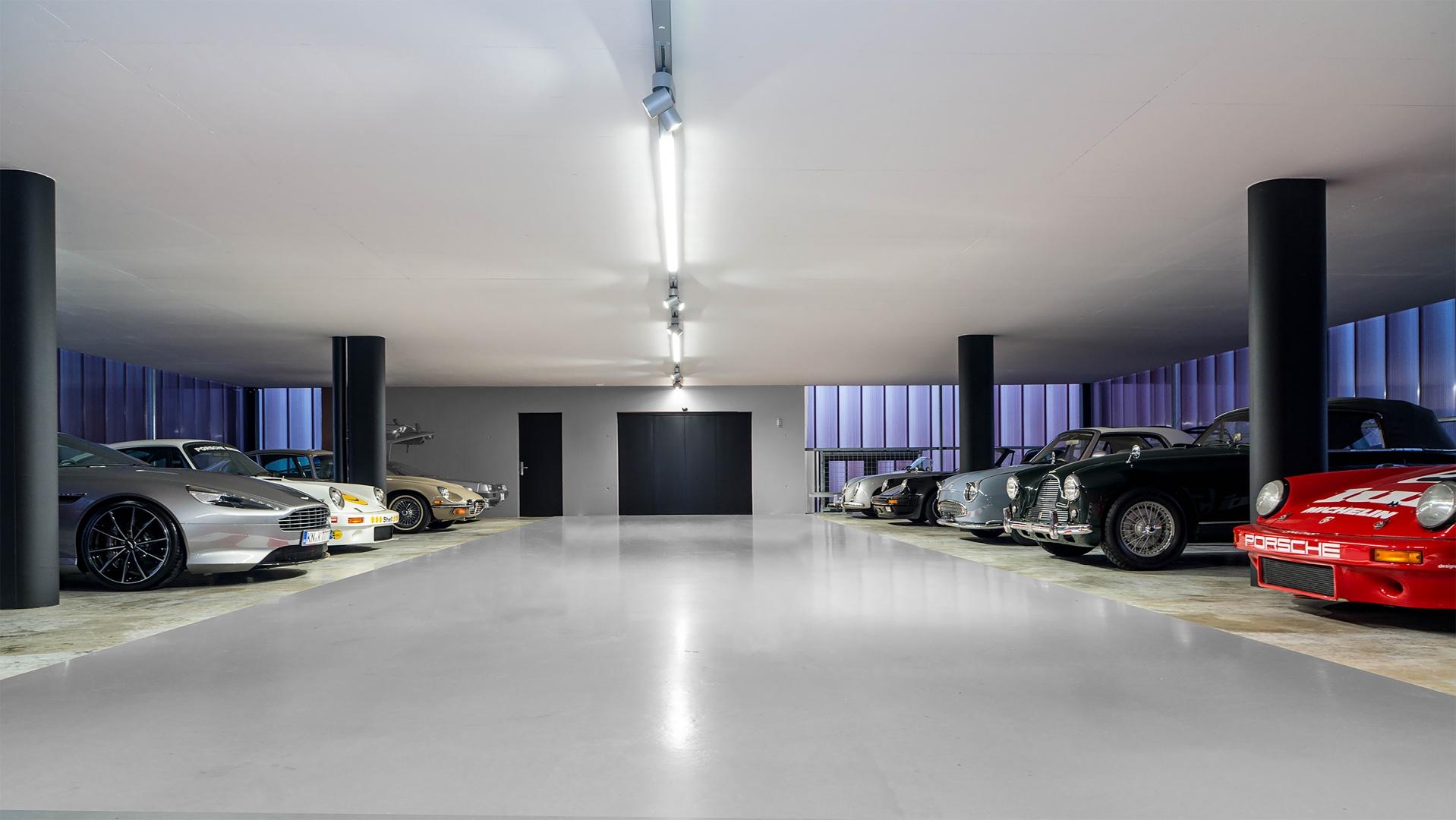 Einstellhalle © Wyss Architektur + Bauleitung GmbH