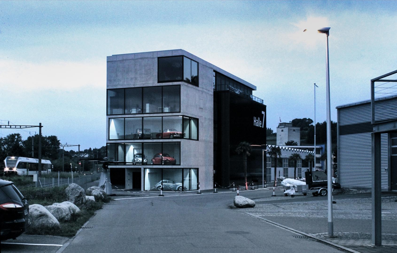 Aussenansicht Strasse © Wyss Architektur + Bauleitung GmbH