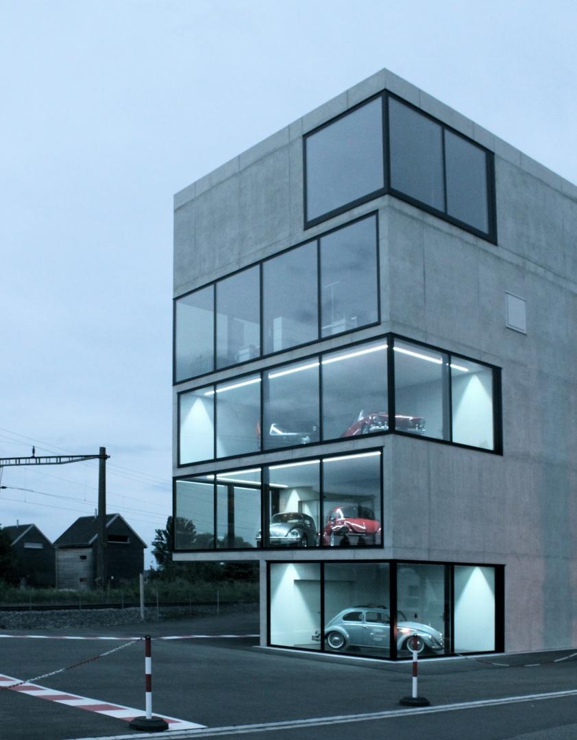 Showrooms © Wyss Architektur + Bauleitung GmbH