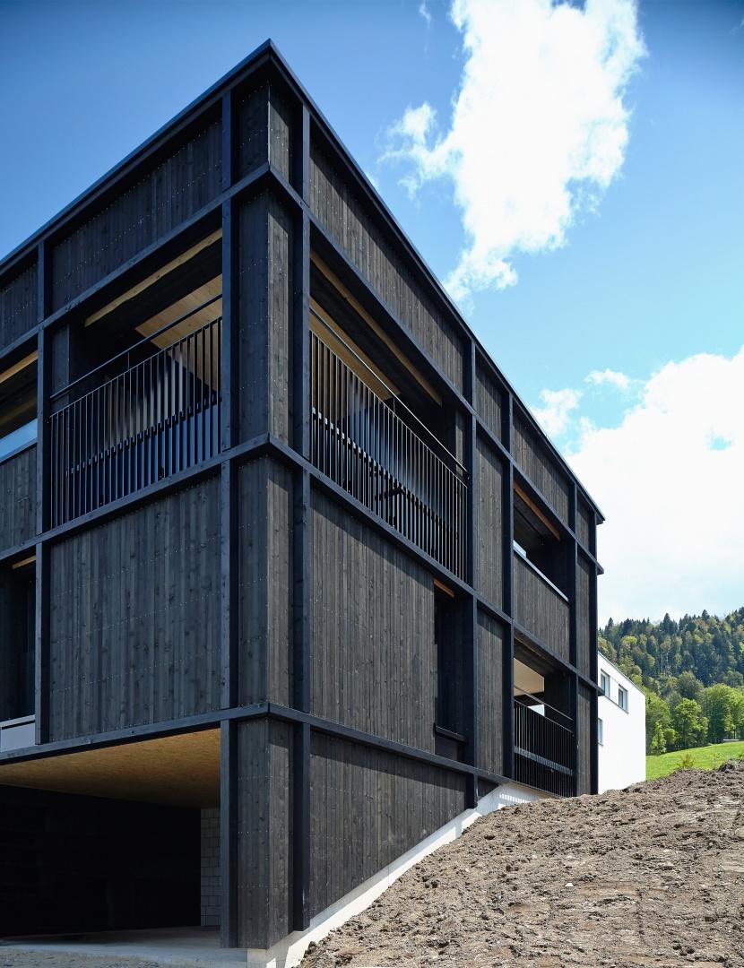 Fassade © Marco Sieber, Luzern