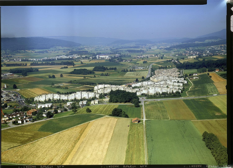 Siedlung Sonnhalde, Aufnahme von 1981 © ETH-Bibliothek Zürich, Bildarchiv