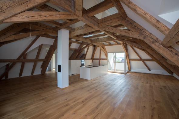 Dachraum Wohnen  © Fotostudio Fischlin