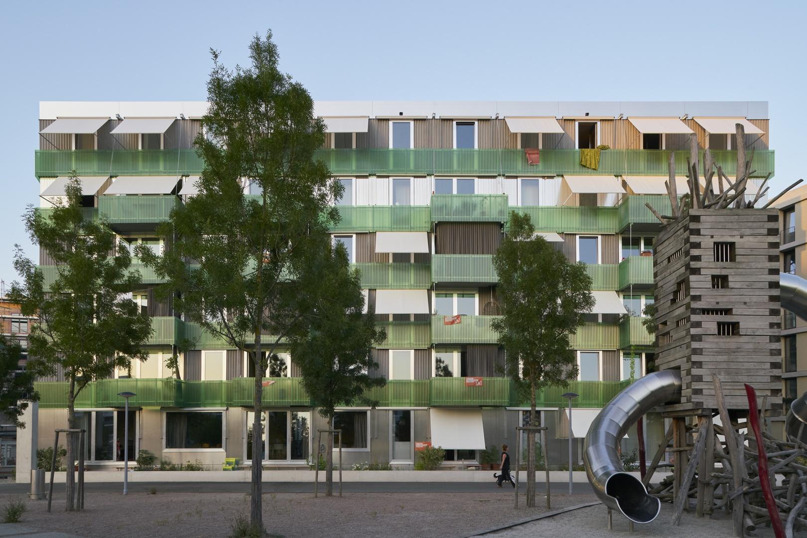 Stadterle Südwestfassade  © Basile Bornand