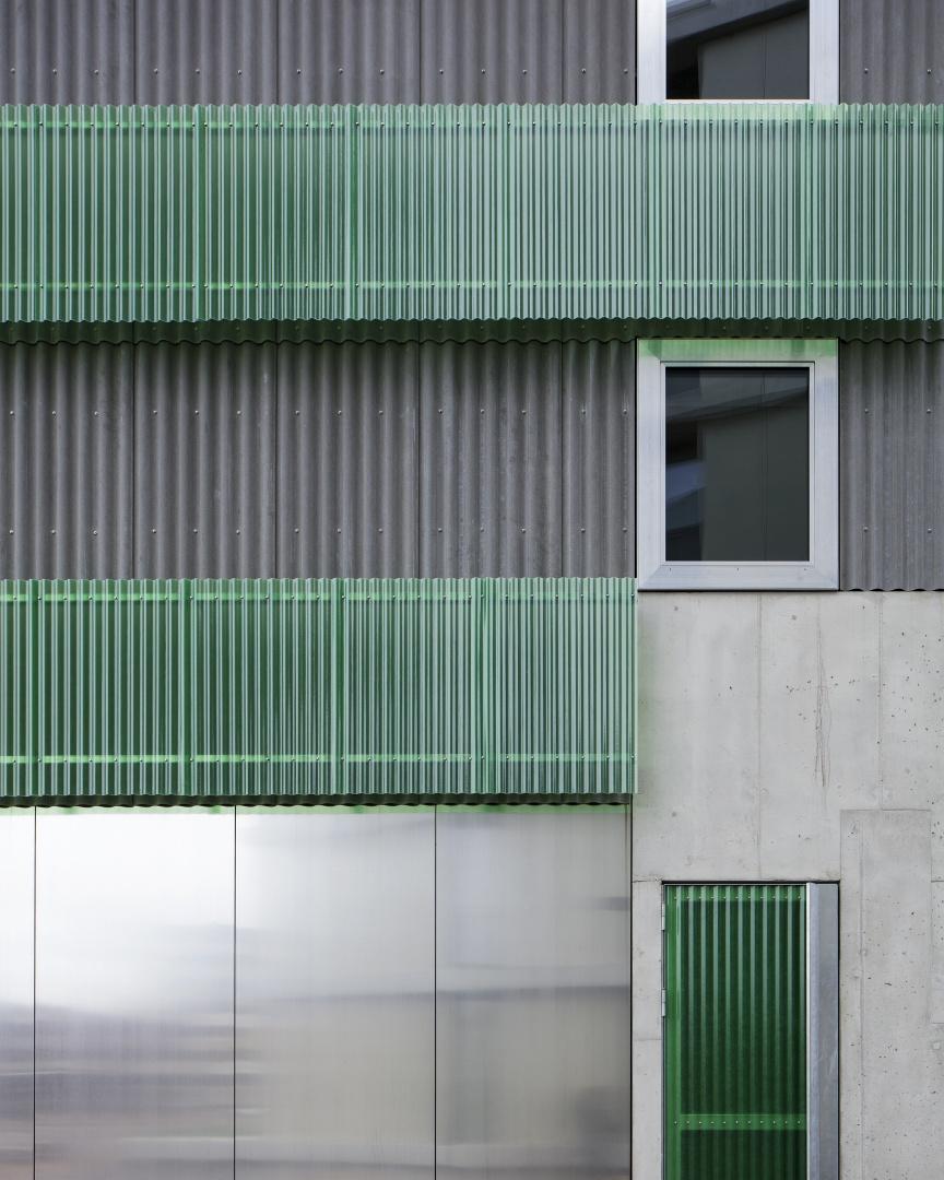 Stadterle Detail Fassade  © Rory Gardiner