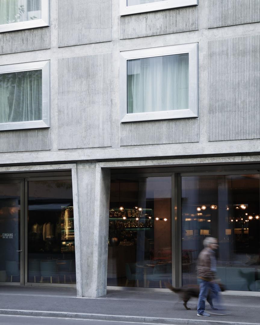 Hotel Nomad Detail Fassade © Rory Gardiner