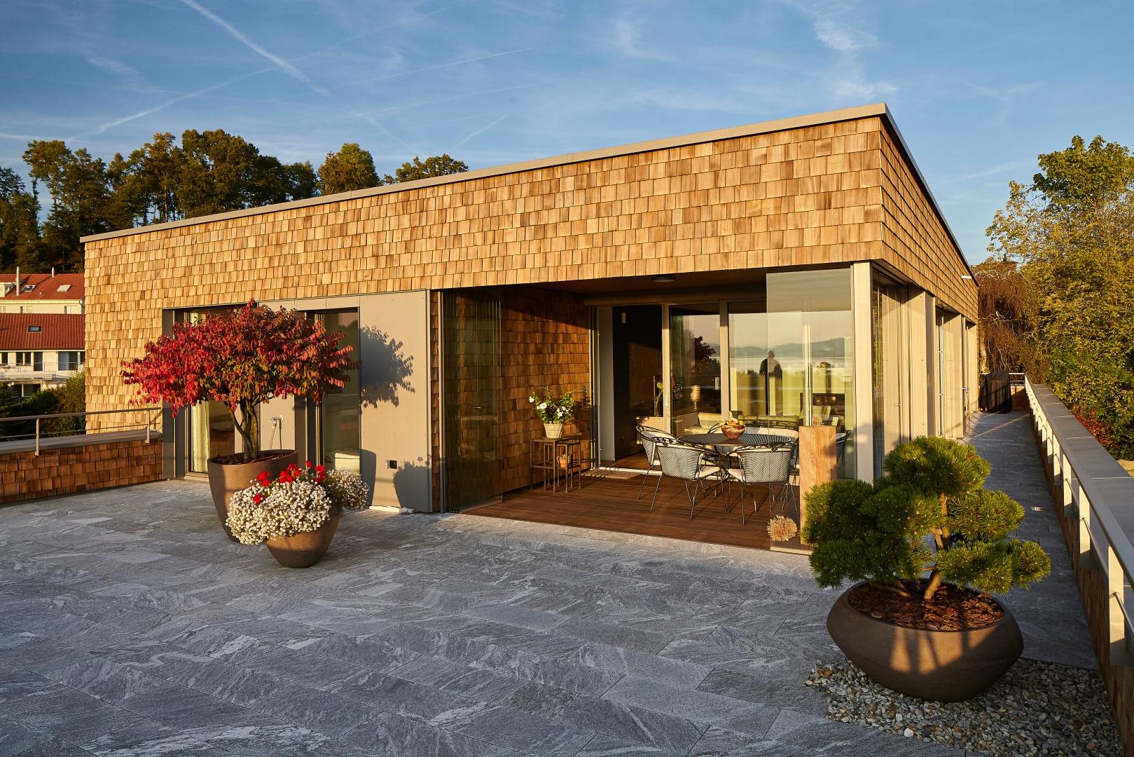 Terrasse zweites Obergeschoss © Marco Sieber, Luzern