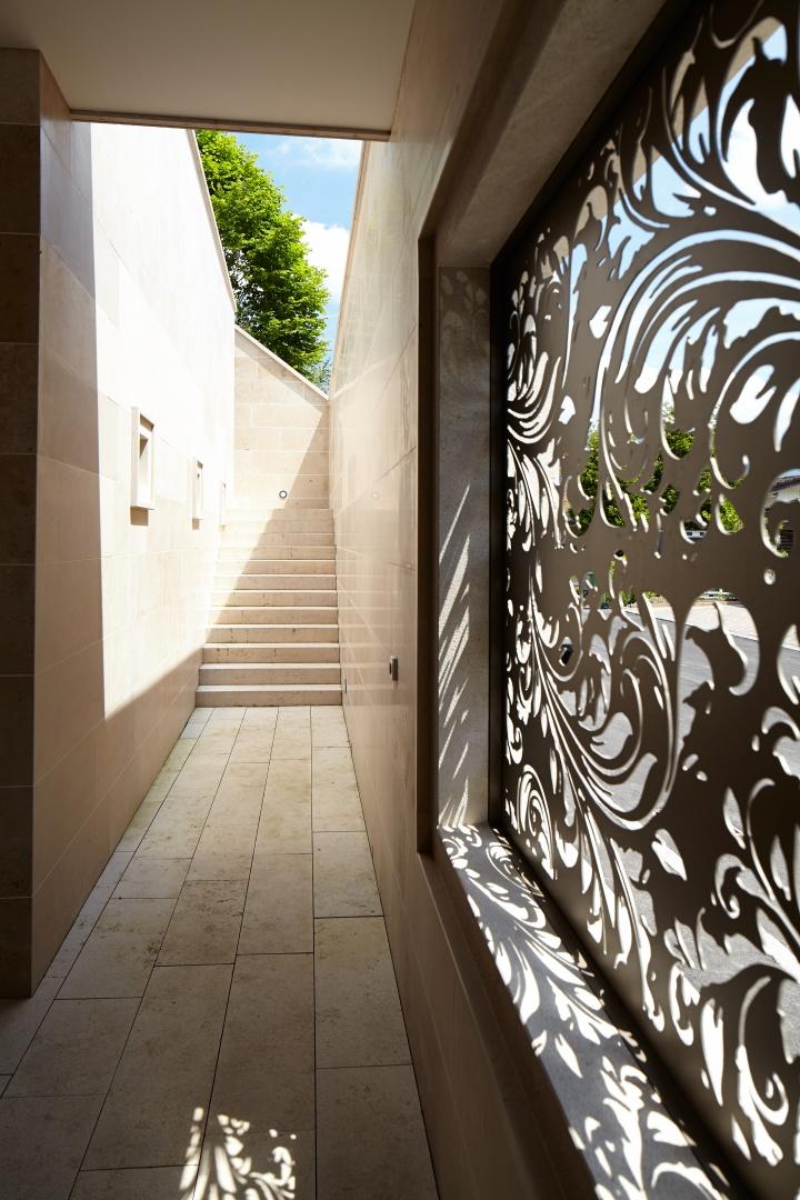 Eingangsbereich zweites Untergeschoss © Marco Sieber, Luzern