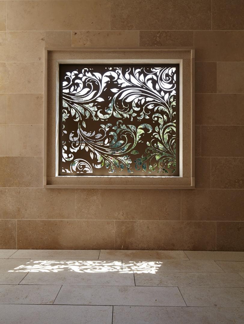 Fenster beim Eingangsbereich © Marco Sieber, Luzern