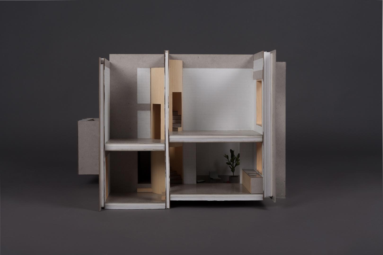 Wohnungsmodell 1:20 © Hamberger Jonas, Theresa Holl