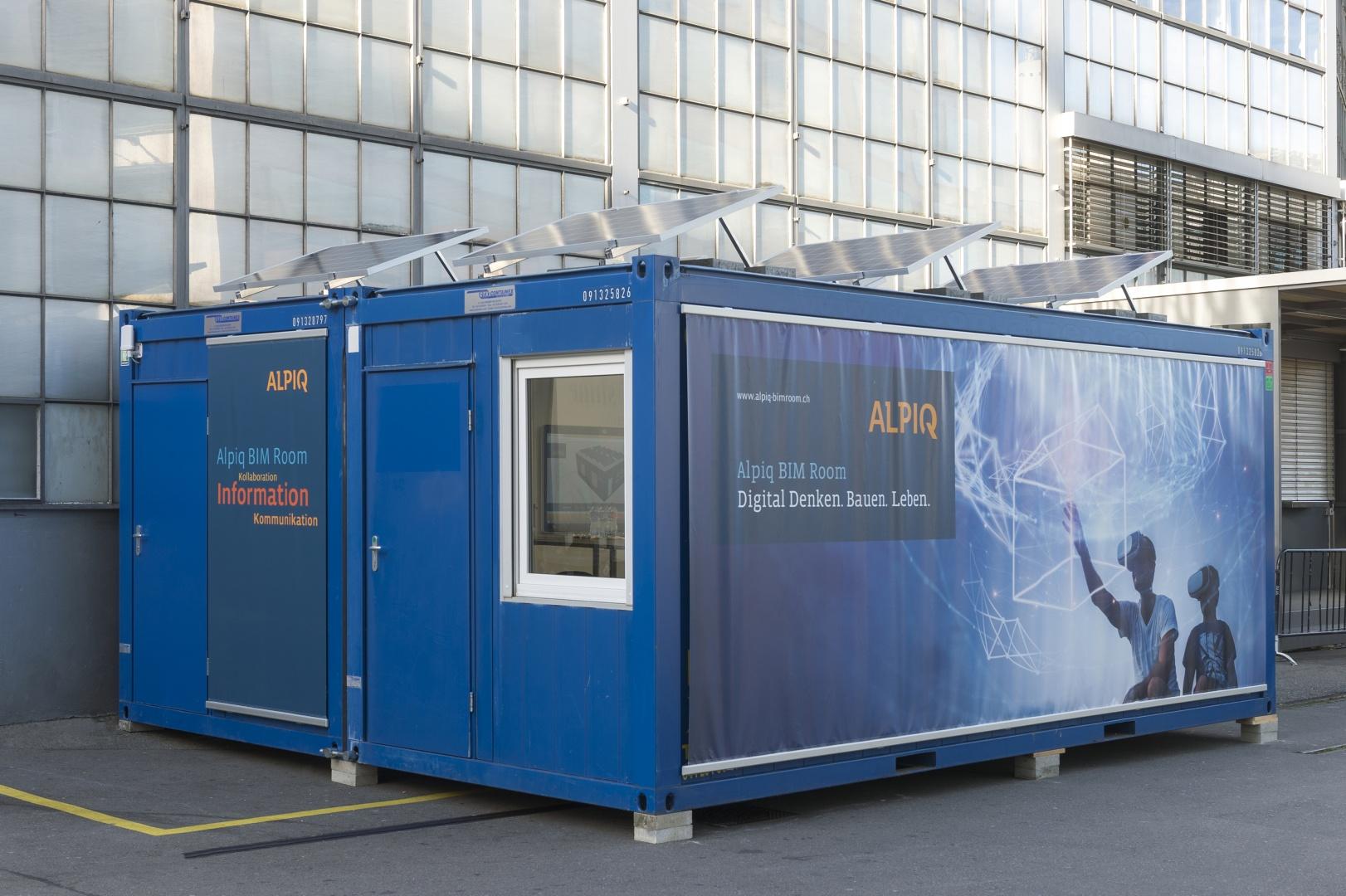 Aussenansicht Alpiq BIM Room © Alpiq InTec Schweiz AG, Webereiweg 6, 4802 Strengelbach