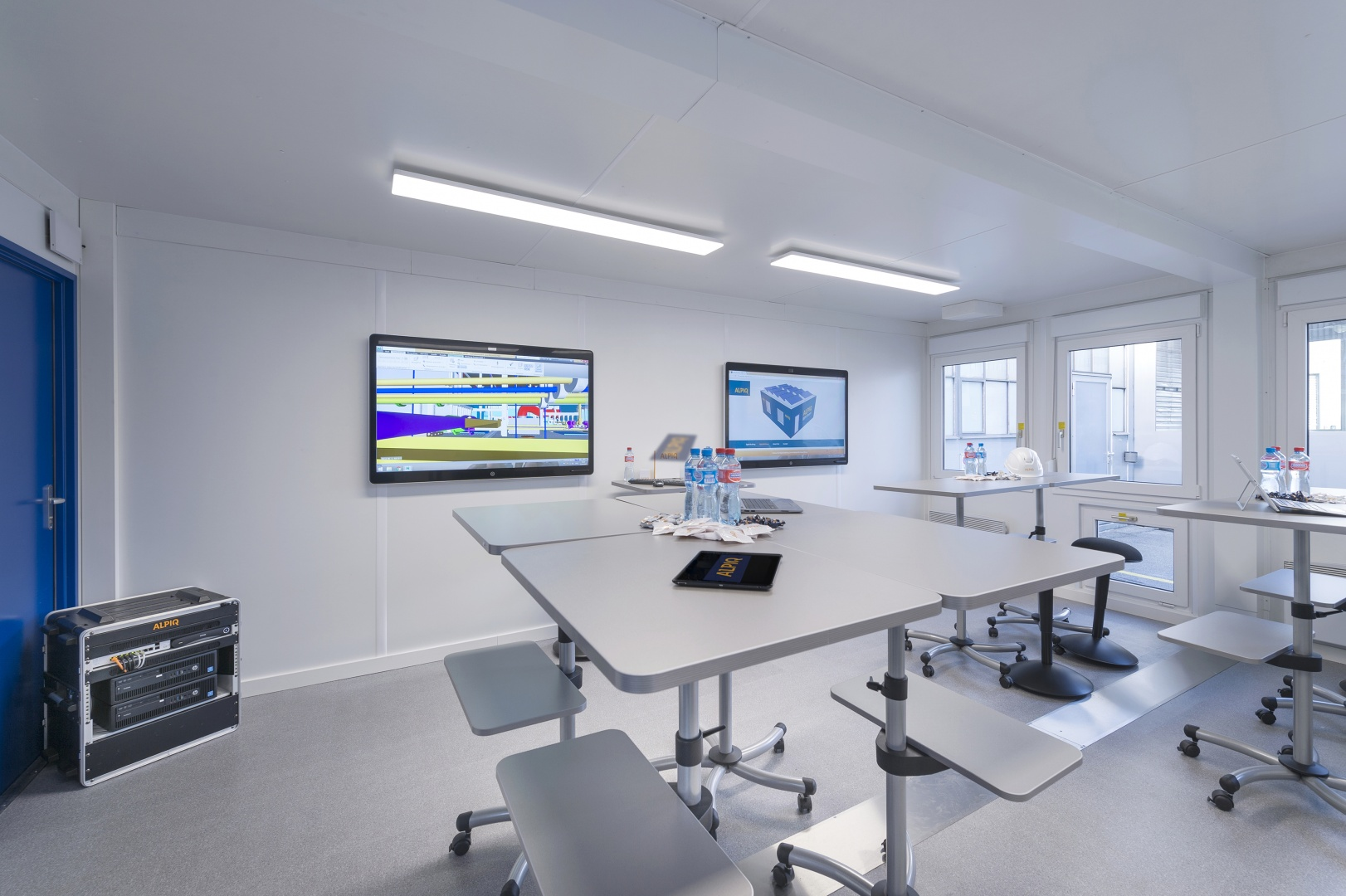 Innenansicht Alpiq BIM Room © Alpiq InTec Schweiz AG, Webereiweg 6, 4802 Strengelbach