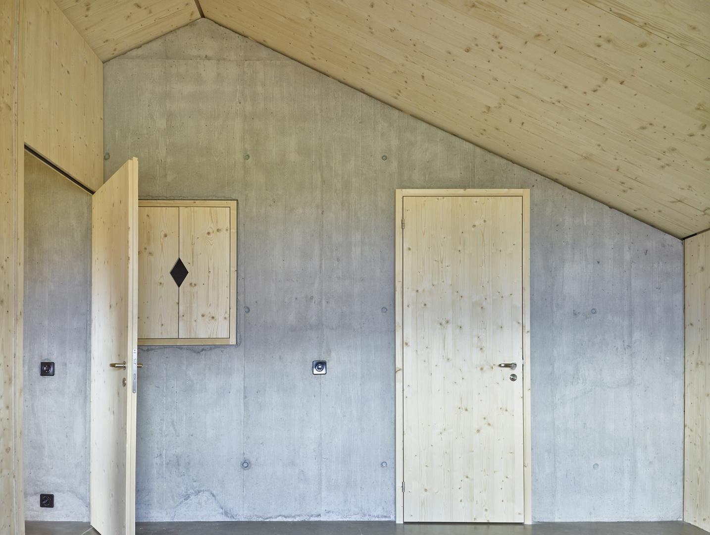 Kernwand im Masterbedroom © Philip Heckhausen, Zürich