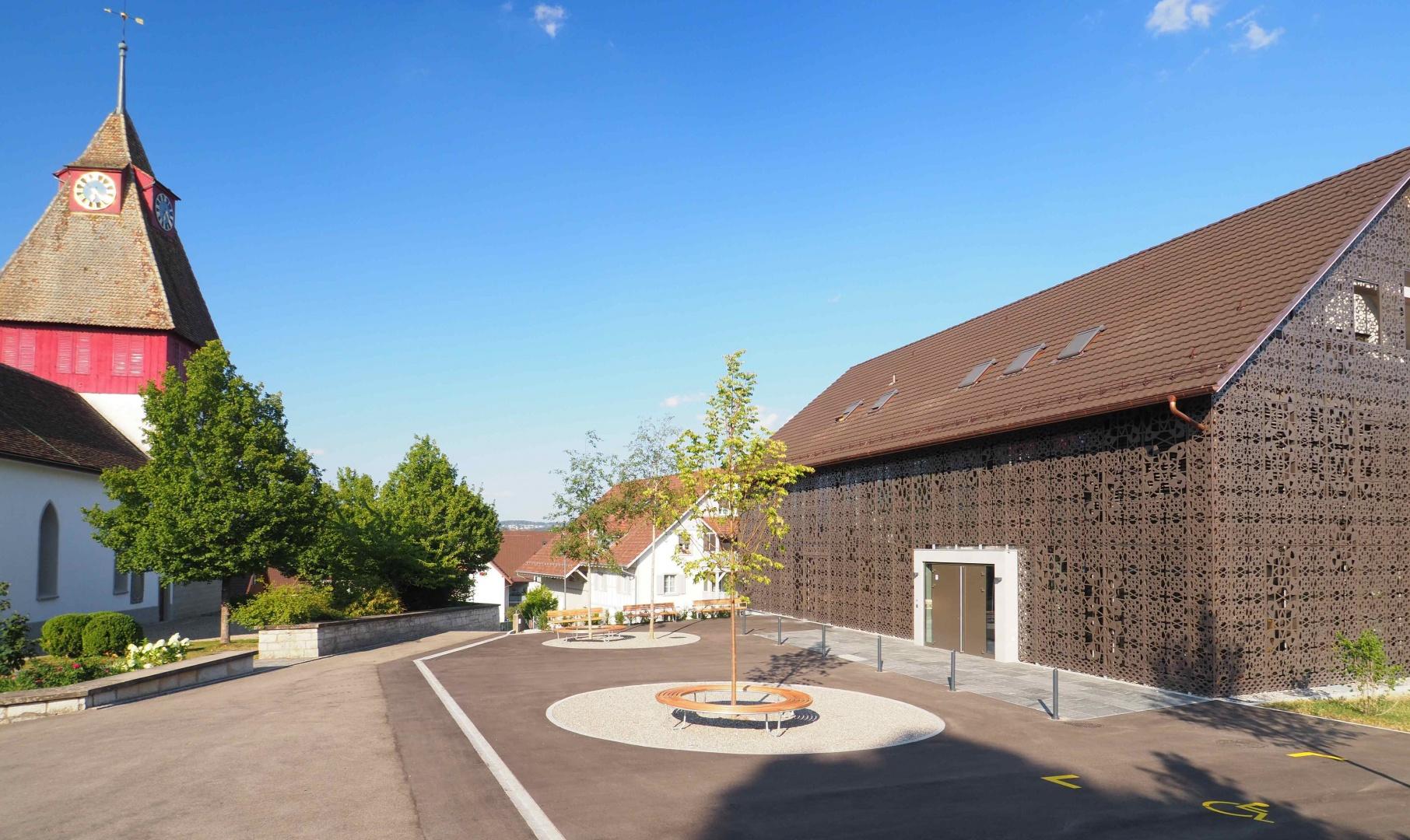 Kirchenplatz © J. Frei