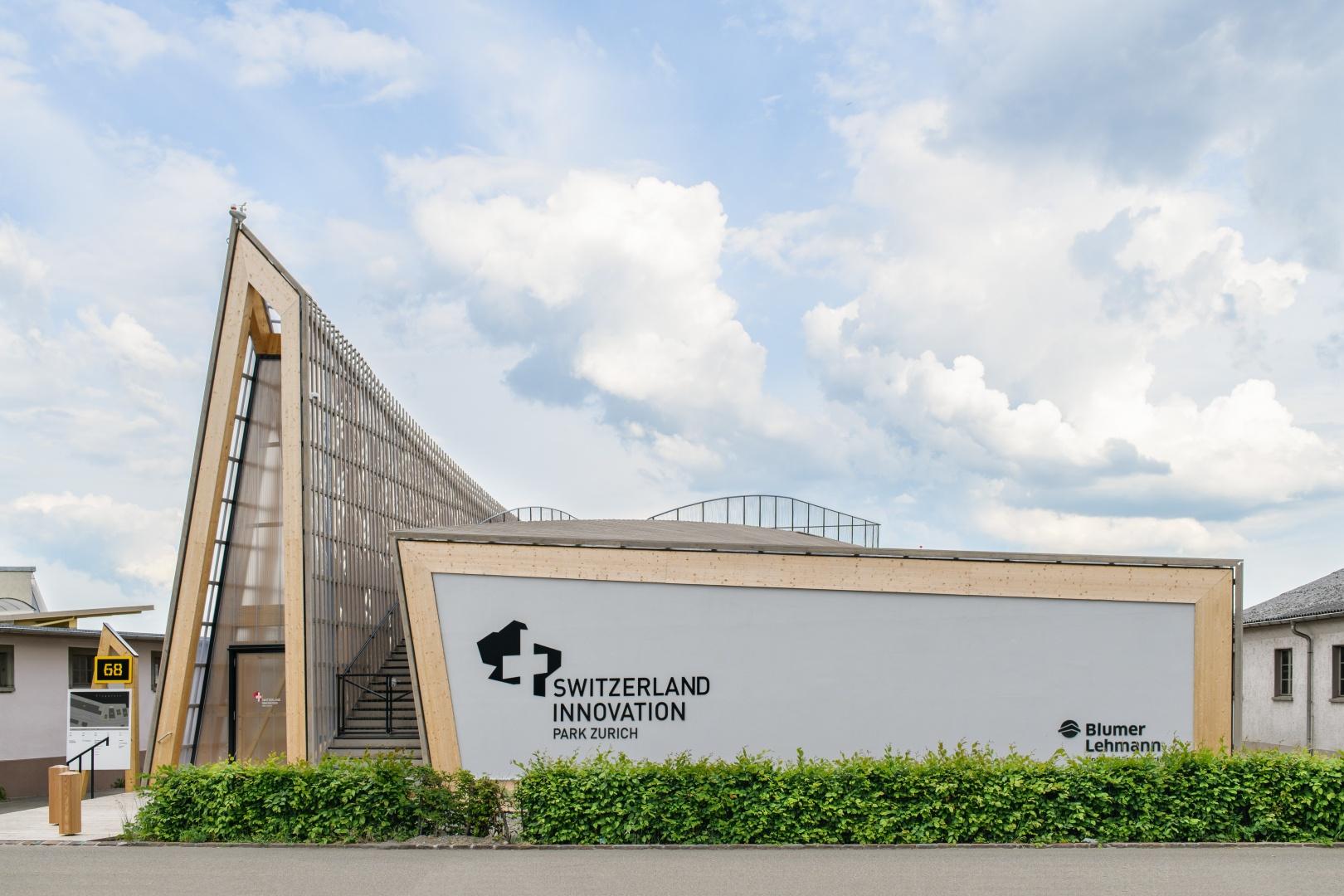 West-Fassade © Blumer-Lehmann AG, Erlenhof, CH-9200 Gossau