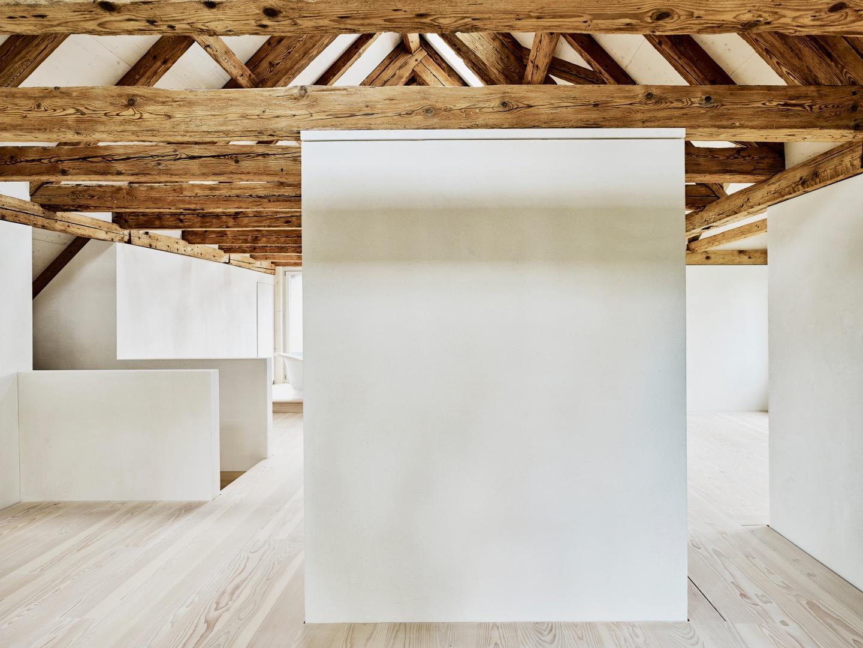 Ausbau Dachgeschoss © Mark Niedermann, Mühlestiegstrasse 28, 4125 Riehen